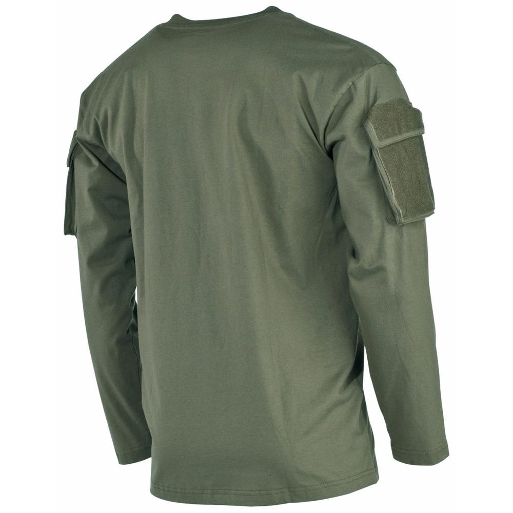 5f08627fc265d1 Koszula taktyczna MFH US z długim rękawem zielona rozmiar S » ODZIEŻ ...