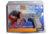 Pistolet AIR-SOFT ASG WALTHER P-22 SET