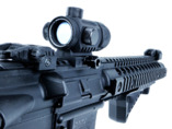 Crosman DPMS SBR z kolimatorem full auto blow back kal. 4,5 mm BB