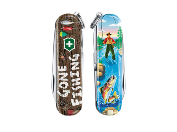 Scyzoryk Victorinox Classic Gone Fishing Limited Edition 2020