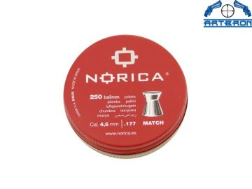 Śrut Norica Match 250 szt. kal. 4.5 mm