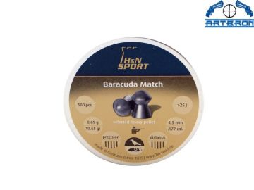Śrut H&N Baracuda Match kal. 4,51 mm