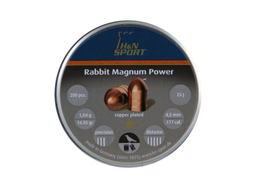 Śrut H&N Rabbit Magnum Power kal. 4,5 mm