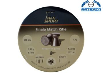 Śrut Diabolo H&N MATCH RIFLE LG kal. 4.5mm