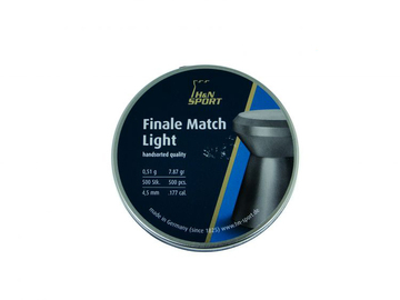 Śrut H&N Finale Match light kal. 4,50 mm