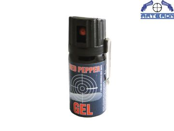 Gaz obronny Red Pepper Gel Graphite 40 ml stumień