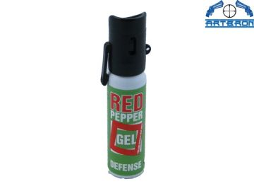 Gaz obronny Red Pepper Gel Zielony 25 ml strumień