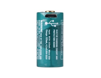 Akumulator Olight R CR123 650 mAh 3,7V kabel USB