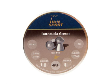Śrut H&N Baracuda Green kal. 4,5 mm