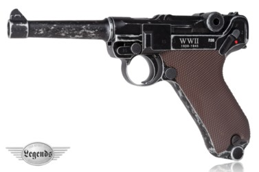 Wiatrówka pistolet Legends Luger P08 Blow Back WWII Limited Editionkal. 4,5 mm BB
