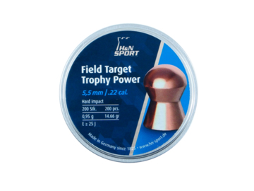 Śrut H&N Field Target Trophy Power kal. 5.5 mm