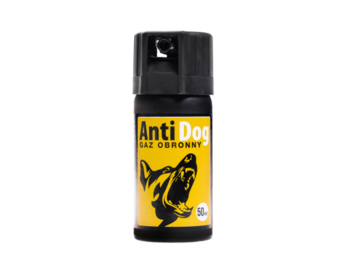 Gaz obronny na psy Anti Dog 50 ml stożek