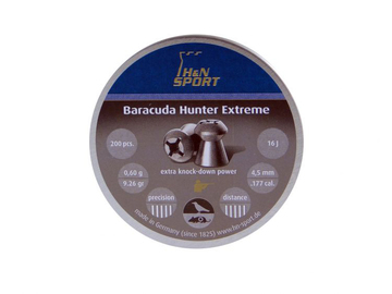Śrut H&N Baracuda Hunter Extreme kal. 4,5 mm