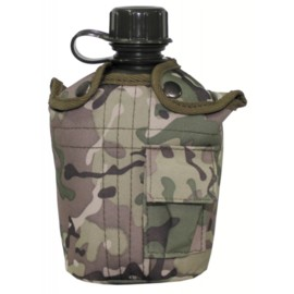 Manierka w pokrowcu MFH operation camo 1000 ml